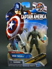 "Captain America First Avenger MOVIE Series Teschio Rosso 3.75 ""Modellino UK Venditore"