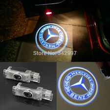 2x Ghost LED Door Courtesy Laser Light For Mercedes Benz SLK R171 Coupe 2004-10