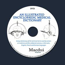 An illustrated encyclopedic medical dictionary Old Books 4 Volumes on 1 DVD