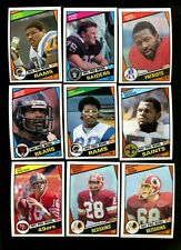 1984 TOPPS FOOTBALL NEAR COMPLETE SET 394/396 MINT *INV4346