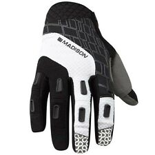 Madison Zenith Mens Mans MTB Cycle Cycling Bike Gloves Black White Large