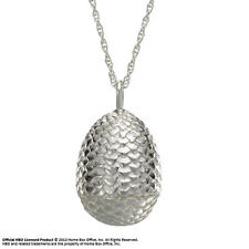 Game of Thrones Sterling Silver Dragon Egg Pendant Noble Collection Daenerys