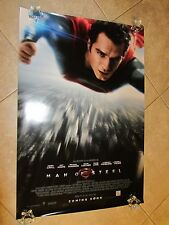 MAN OF STEEL movie poster HENRY CAVILL International one sheet C - SUPERMAN