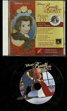 Beauty And The Beast K-Mart Only picture CD Walt Disney