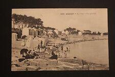 Carte postale ancienne CPA animée BENODET - La Plage - Vue générale