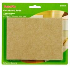 SupaFix Felt Guard Pads Pack 2 110mm x 150mm - Protect Floors & Furniture