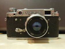 FED-2 Rangefinder Camera M39 Industar-26M 2.8/52 with case (#080197)