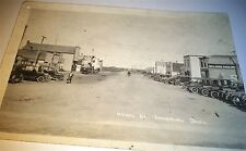 Rare Antique Royal Street Imperial Saskatchewan Real Photo Postcard RPPC Canada!