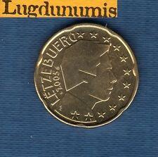 Luxembourg 2005 - 20 centimes d'Euro - Pièce neuve de rouleau - Luxembourg