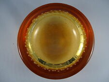 WHITEFRIARS AMBER/ GOLD BOWL FLC CONTROLLED BUBBLE