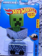 2016 Hot Wheels Minecraft Minecart~FREE SHIPPING in the US!!
