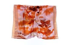 (301613)Ladies Large Classic Silky Satin Rectangle Shawl Neck Head Scarf Wrap