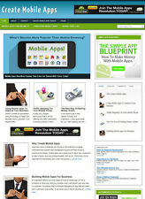 CREATE MOBILE APS WEBSITE AFFILIATE STORE & BLOG WITH DOMAIN & HOSTING