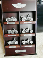 Harley Davidson 100th Pewter Replica Set