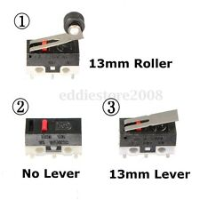 5PCS Mini Hinged Lever Ultra Microswitch SPDT Sub Miniature Micro Switch NEW