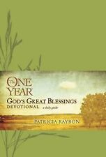 The One Year God's Great Blessings Devotional, Raybon, Patricia, New Book