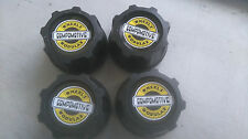 Compomotive Alloy Wheels - Modular Centre Caps 60mm x 4 - Retro Alloys - New.