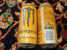 1 full energy drink can estados unidos = monstruos ultra Sunrise =