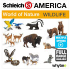 SCHLEICH WORLD OF NATURE AMERICA ANIMAL TOYS & FIGURES FIGURINES ANIMAL MODELS