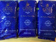 """Alto Grande"" Whole Bean Coffee  2 lbs.SUPER PREMIUM PUERTO RICO COFFEE LOT OF 3"