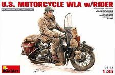Kit Modelo min35172-Miniart 1:35 - U.s. Motocicleta Wla Con Jinete