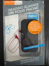 THINOPTICS - READING GLASSES ON YOUR PHONE - +2.50 - RED FRAME - RC 1527