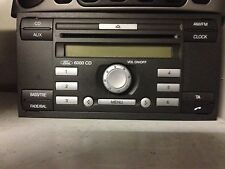 Ford Fiesta Fusion Focus C-Max Transit cd player with code 6000 CD
