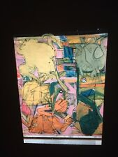 "William De Kooning ""Sketch For Backdrop"" Abstract Expressionist 35mm Art Slide"