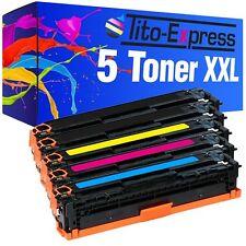 5 Toner für HP Laserjet Pro 200 Color M251N M251NW M276N M276NW CF210X-213A 131A