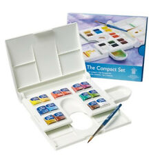 Winsor & Newton Cotman Watercolour 14 Half Pan COMPACT Artist Box Set.