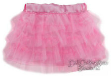 """Pretty Pink Tutu Mini Skirt made for 18"""" American Girl Doll Clothes"""