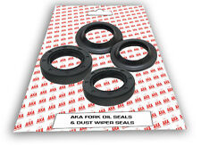 Fork Oil Seal & Dust Seals set for:- BETA Techno/ Evo / Rev3 / SHERCO / Scorpa