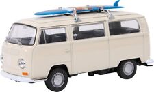 Blanc 1972 T2 maquette caravane VW Bus Jouet split screen Hippy Surf-Coffret