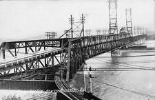 Photo. 1924-6. New Westminster, BC Canada. Fraser River Bridge
