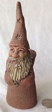 "Windridge House Pottery Wizard Holder Surrey B.C. Canada Signed 6 3/8"" Tall"