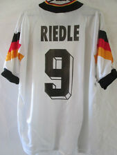 "Alemania 1992-1994 Karl Heinz riedle Home Football Shirt Talla 44 "" -46"" / 34703"