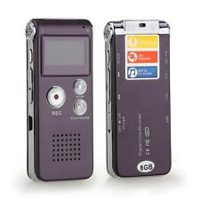 8GB 8G Digital Voice Audio Sound Telephone Recorder Dictaphone MP3 Player USB