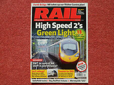 RAIL Issue 688 - very good condition - Boden Rail Engineering + HS2 News Special