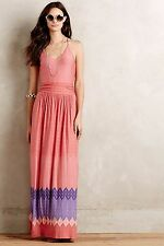 NWT Anthropologie Sunfall Maxi Dress By Nomad Morgan Carper Sz M Medium