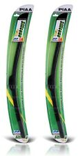 "PIAA Si-Tech Front Aero Flat Wiper Blade Set - Silicone 22 / 550mm 18"" / 45"