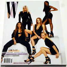 W MAGAZINE MARCH 2017,KATE MOSS COLLECTORS EDITION VERSACE CHASTAIN LOPEZ HENSON