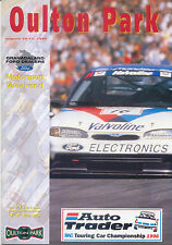 RAC British Touring Car Championship Oulton Park August 1996 Official Programme
