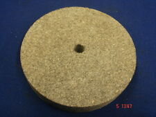 "Hard BROWN Felt Polishing Wheel 5"" x 3/4"" - 125mm x 20mm  x 12mm Bore Brand New"