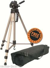 NEW CAMLINK 1.63M 1.476KG CL-TP2800 TP2800 TRIPOD 3 WAY PAN/TILT HEAD CARRY CASE