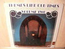 Themes Like Old Times: Volume Two (SEALED VIVA LP) Old Time Radio THEMES