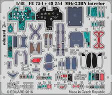 Eduard PE 49754 1/48 Mikoyan MiG-23BN Flogger interior Trumpeter