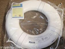"LIFE RING BUOY 20"" 58 GW20 WHITE USCG APPROVED BOAT SAFETY BOATINGMALL EBAY"