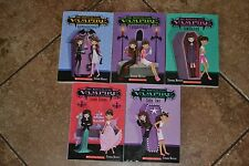 LOT: (5) My Sister The Vampire Books Sienna Mercer VGC + FREE SHIPPING!