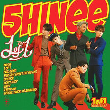 SHINEE-[1 OF 1] 5th Album CD+POSTER+24p Booklet+72p Photo Book+1p Card K-POP