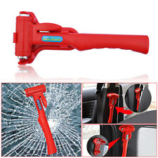 Car Emergency Safety Escape Hammer Auto Bus Tool Kit Belt Window Breaker Cutter